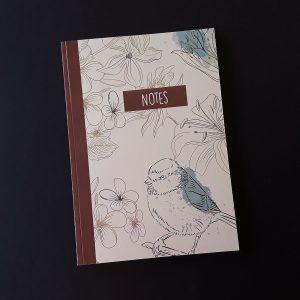 Cuaderno DIN A5 Bird