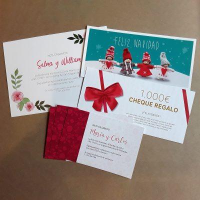 Invitaciones y Christmas